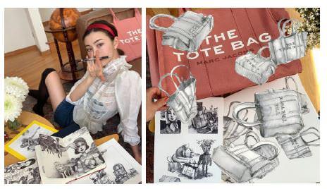 公式インスタグラム「Drawn Together 」にローレン・サイが登場!待望の作品集第二弾はBOOKMARC にて限定販売決定