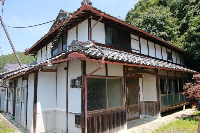 シャンプーハット・てつじが購入した京都・綾部市の空き家