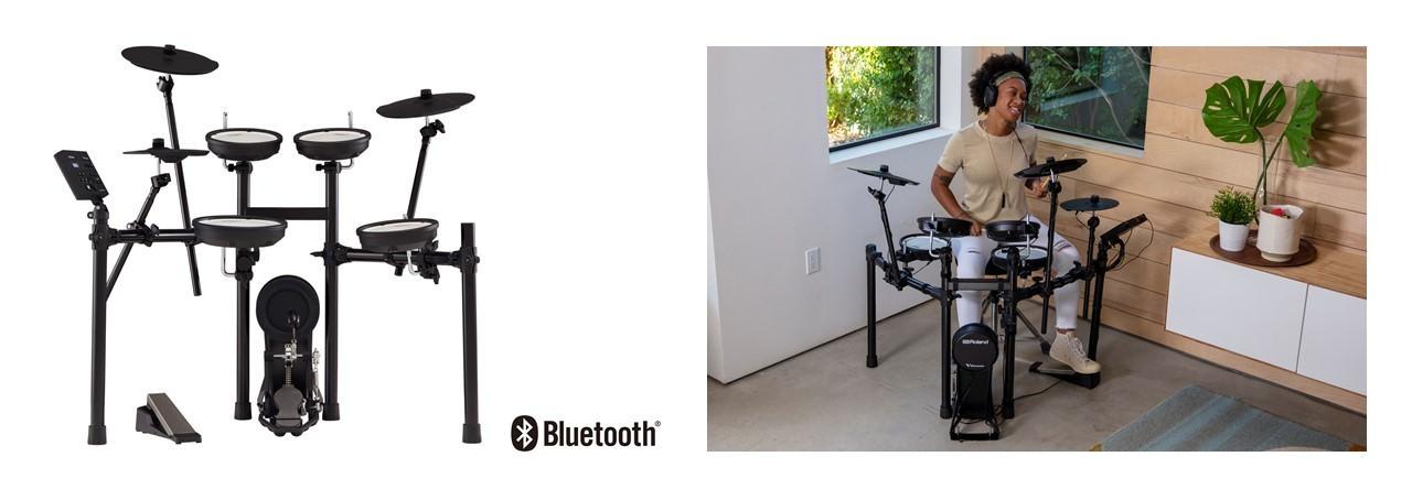 「おうち時間」で静かに楽しく練習できる電子ドラムの 最新モデルを発売