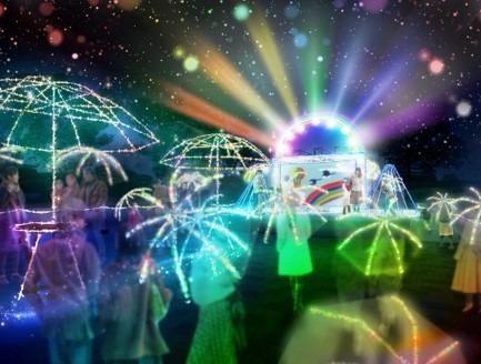明るい未来を願う「新たな虹」をテーマにした新しいイルミネーション 「名古屋港 illumination 2020 ~Over the Rainbow~」開催!
