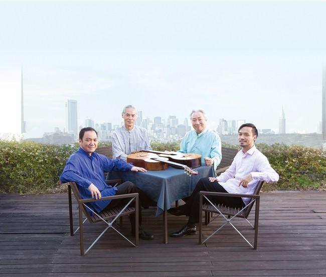 日本を代表する4人のギタリストの名手がDUOで奏でる6通りのアンサンブル!