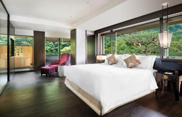 嵐山の自然に包まれ、格別な癒しを『翠嵐 ラグジュアリーコレクションホテル 京都』全室にエアウィーヴを採用