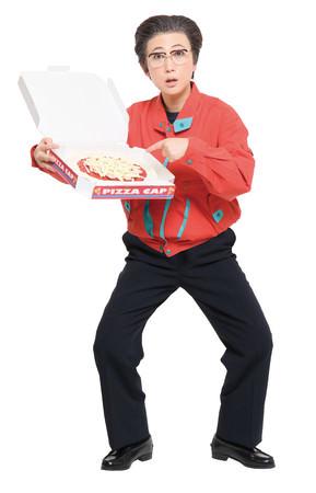 """【ロフト】芸人友近さん扮する""""西尾一男""""のピザショップ「PIZZA CAPスタンド」期間限定で銀座ロフトに登場!"""