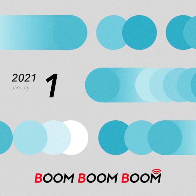 今後の音楽シーンを先取りできる必聴プレイリスト「BOOM BOOM BOOM」の1月プレイリストが公開!