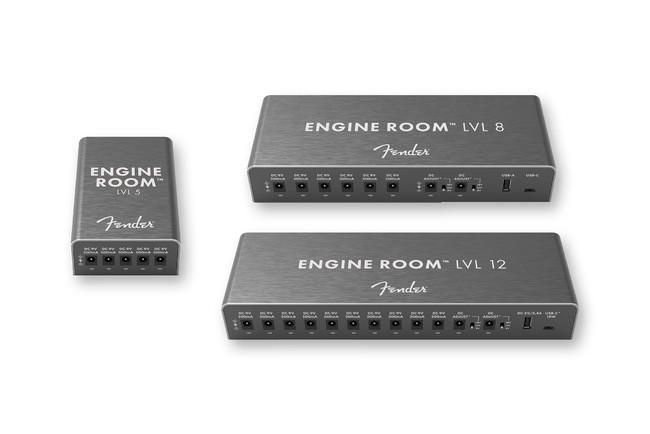 エフェクトペダルにクリーンな電源を。ENGINE ROOM™ パワーサプライ3機種を発表。