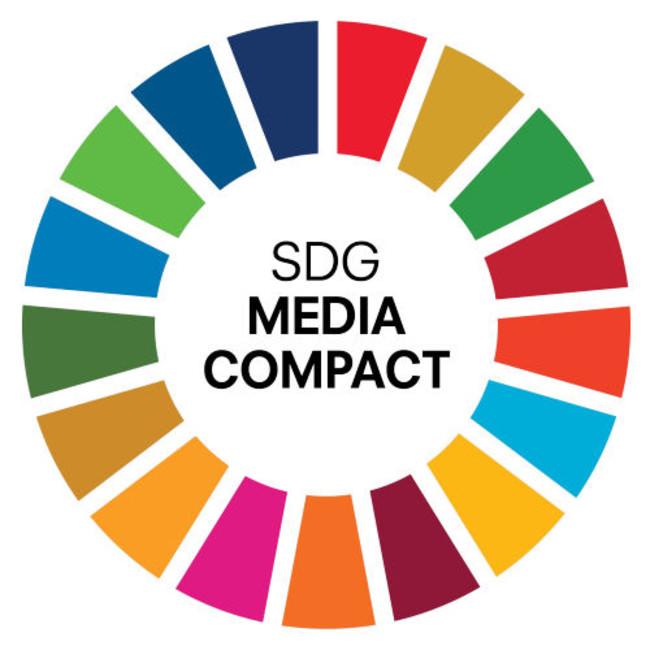 「SDGメディア・コンパクト」ロゴ