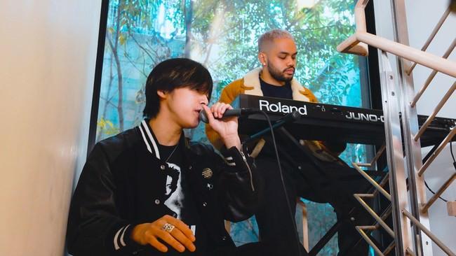Spotifyのバイラルチャートで急上昇!藤田織也が話題曲「ALL MINE」のライブセッション動画を公開。「Famima Rap」が大ヒット中のプロデューサーMatt Cabとスペシャルコラボ!