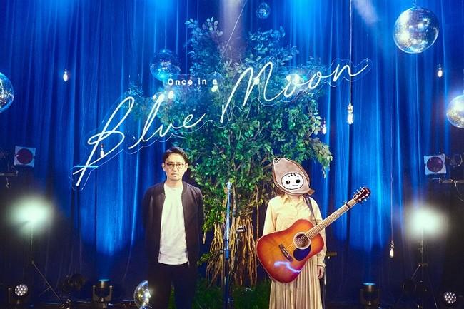 HuluがTikTokとタッグを組んで贈る、新スタイルの音楽コンテンツ「Once in a Blue Moon」2021年3月12日(金)~ 第1弾配信スタート