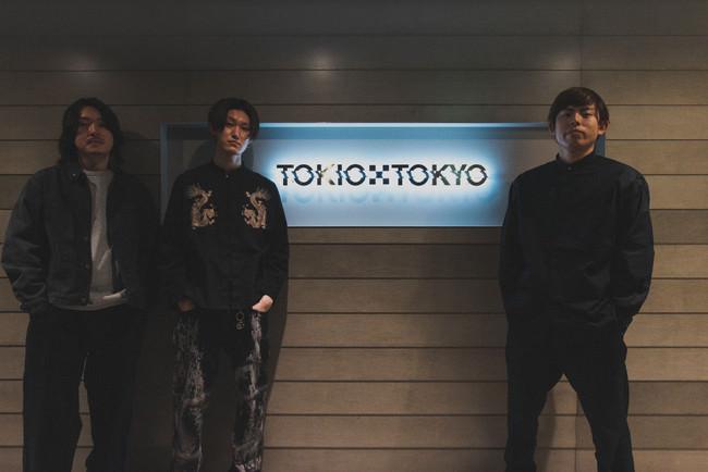 HYPE メンバー(左から常富、後藤、橋本)