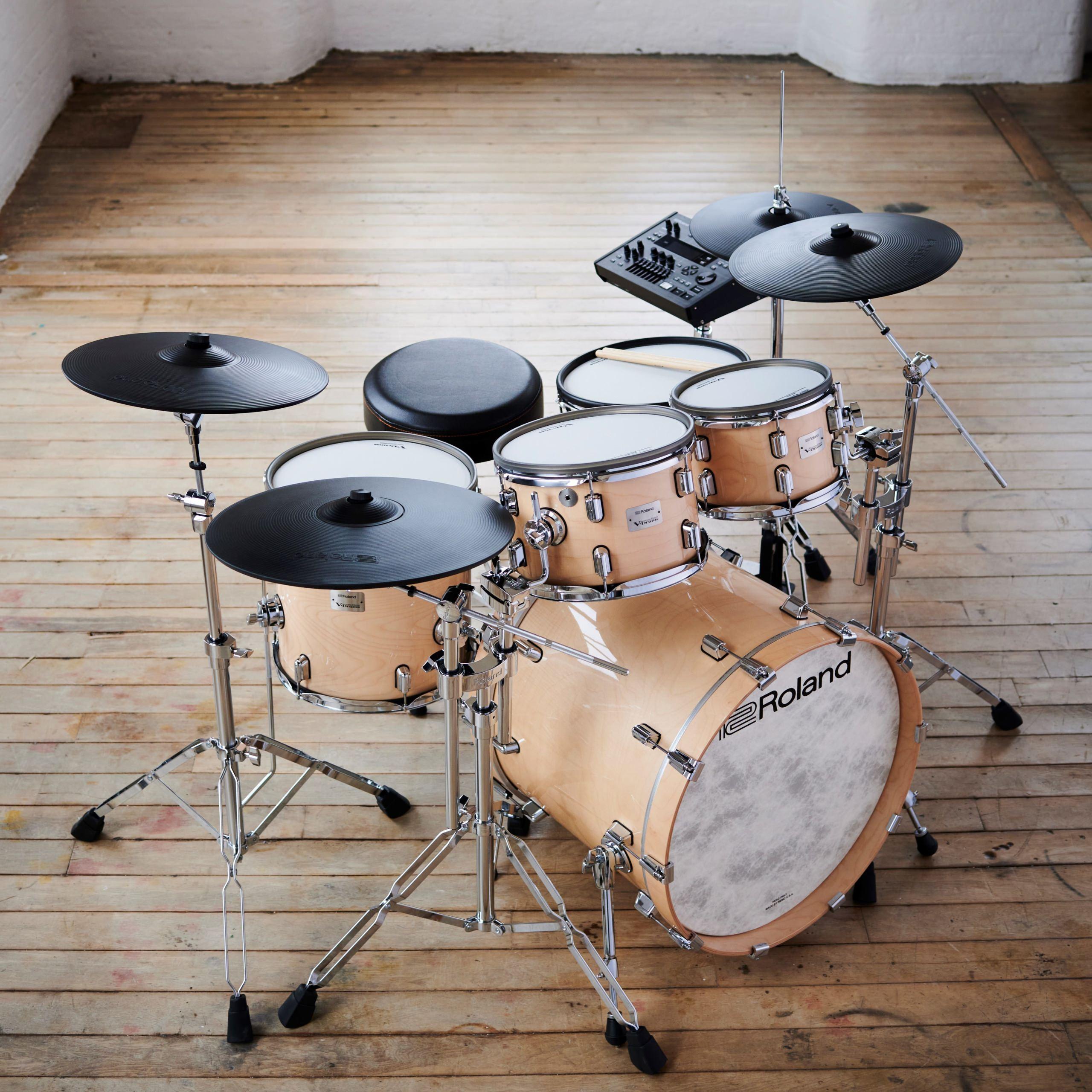 存在感のあるデザインで人気の電子ドラム 「VADシリーズ」の最上位モデルを発売
