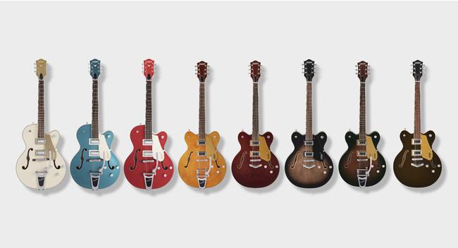 ギターブランド「GRETSCH」の人気シリーズ『Electromatic® Collection』より新製品が登場 〜2021年4月27日(火)より国内販売を開始〜