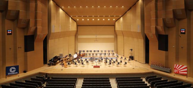 「吹奏楽の甲子園」とも呼ばれる名古屋国際会議場。中高の全国大会が開かれる 写真撮影・朝日新聞出版