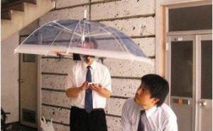 ドローン傘 実用