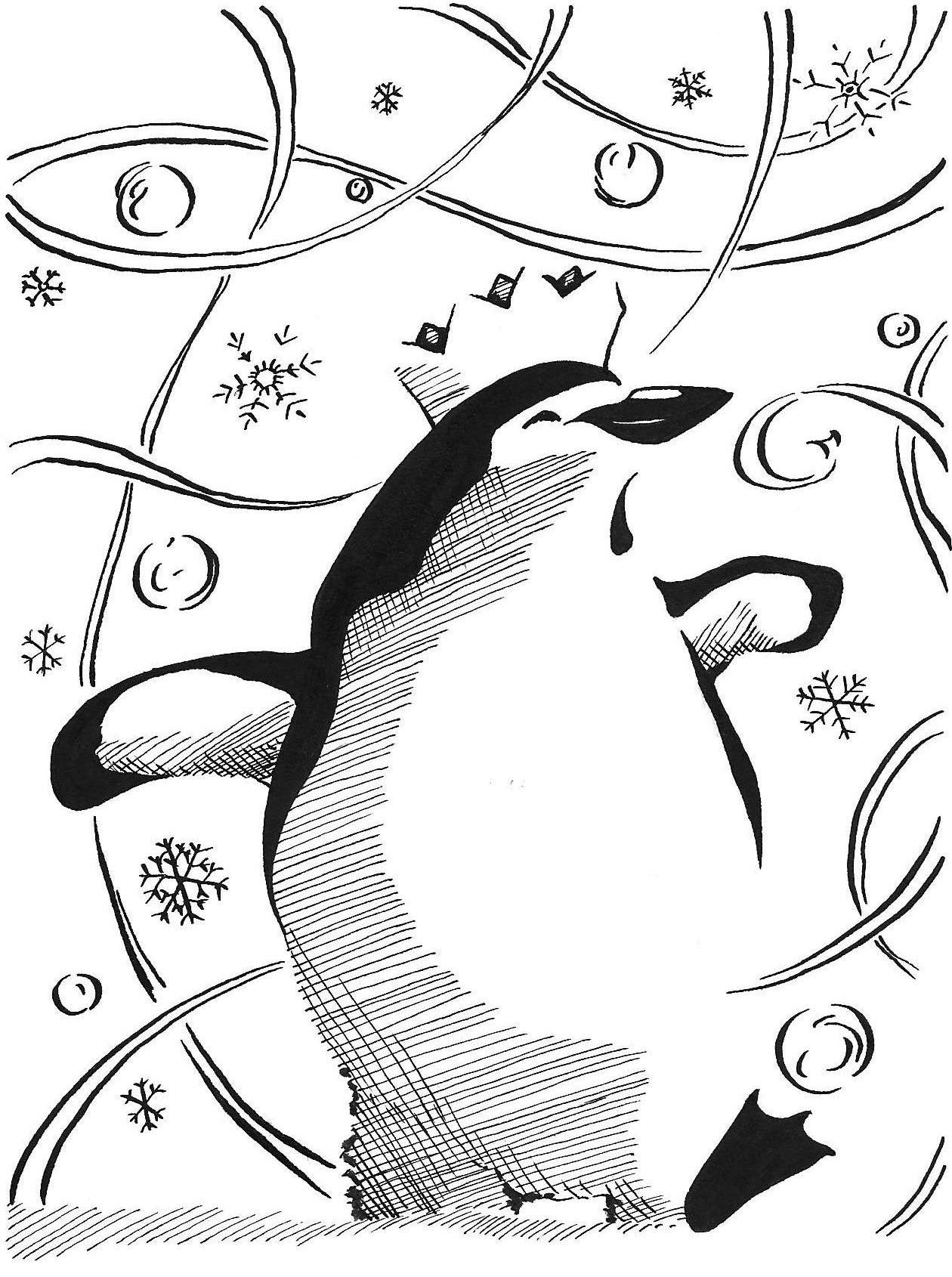 Pittsburgh Penguins Coloring Pages