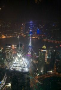 Blick von ganz oben (Shanghai World Financial Centre)