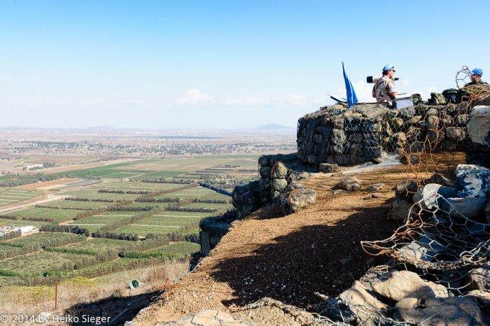 UN-Soldaten auf den Golanhöhen
