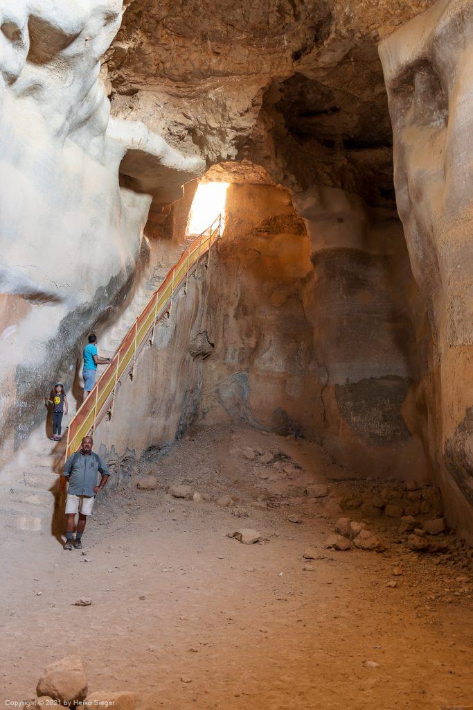 The big cistern at Masada