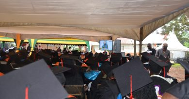 Kampala University Graduands