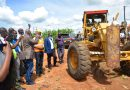 MAAIF launches construction of two roads in Sembabule