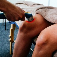 laser treatment of knee