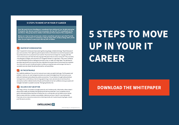 5 Steps to Move Up in Your IT Career