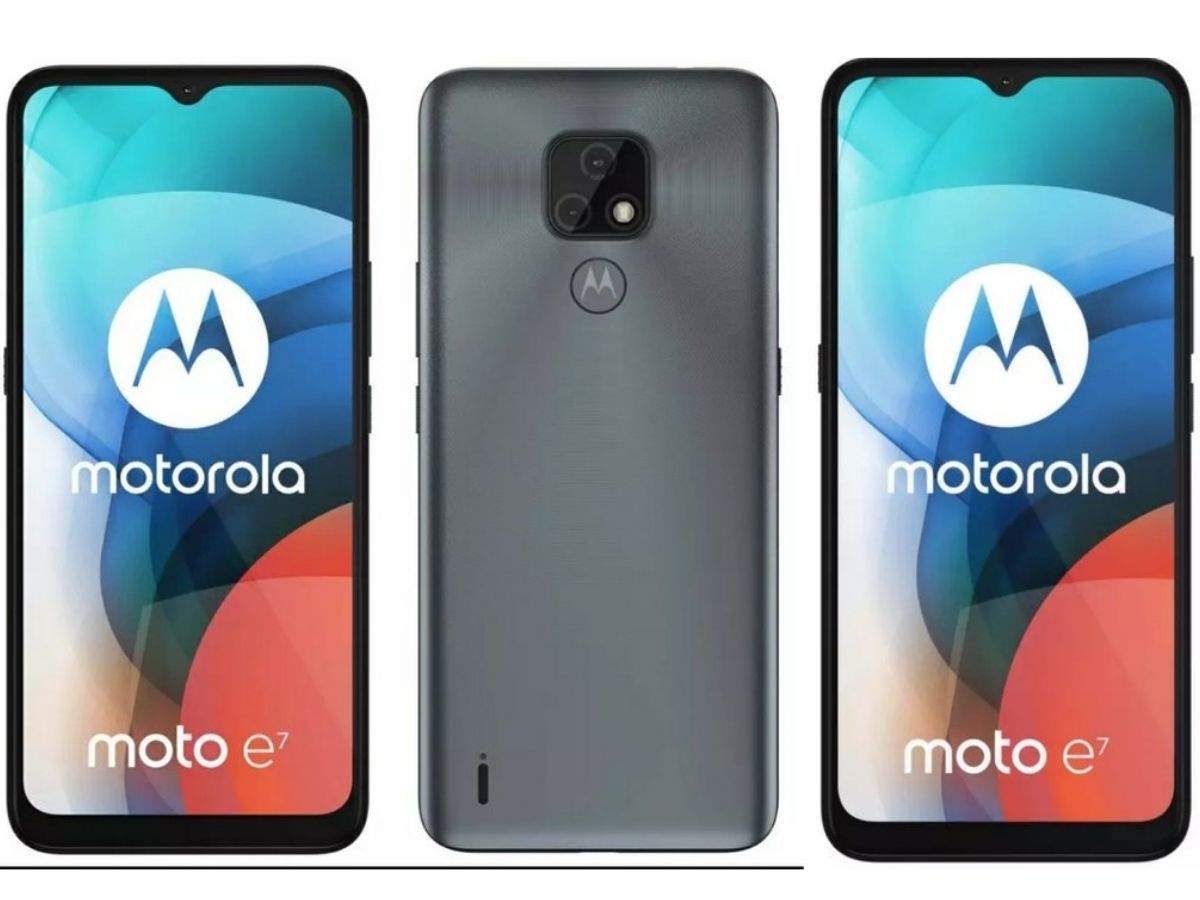 Moto E7 renders, key specifications revealed ahead of official launch