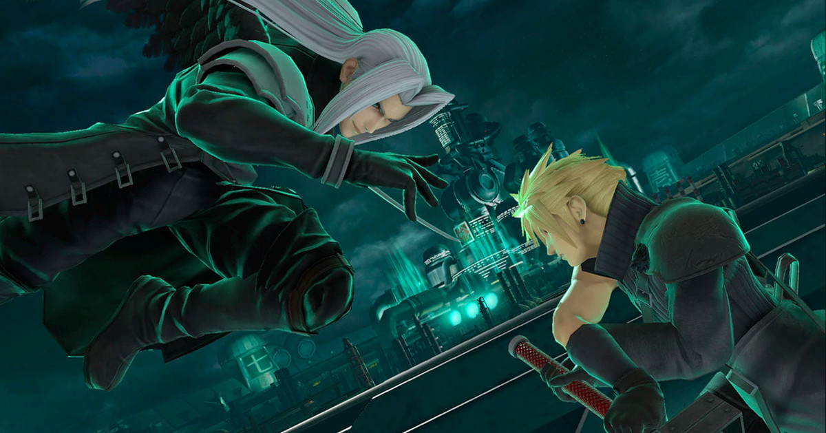 Sephiroth Is Joining The Roster In Super Smash Bros. Ultimate