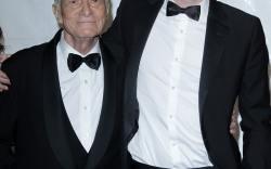 Hugh Hefner y su Hijo Cooper Hefner