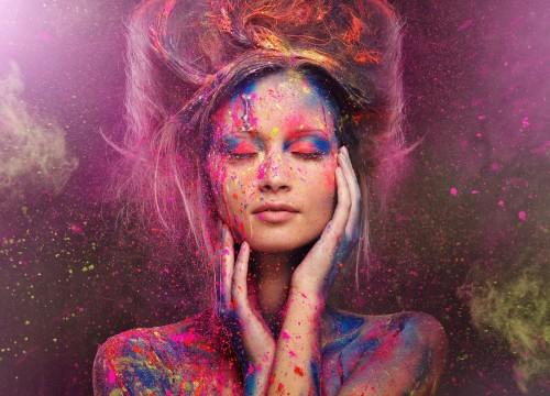 Festival de colores en India