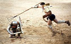 cómo se filmó la película gladiador