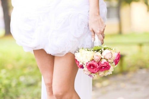vestidos cortos para novia 2015
