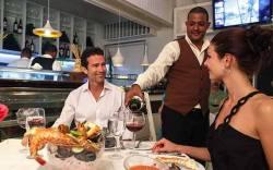 Cena en el restaurante Carpe Diem