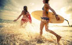 Juegos Nacionales de Surf 2015 en Mazatlán