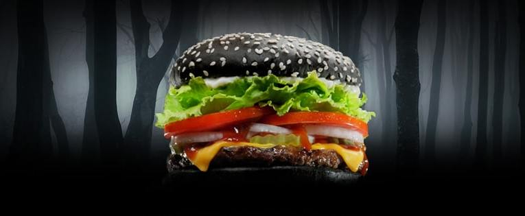 la nueva whopper negra de burger king