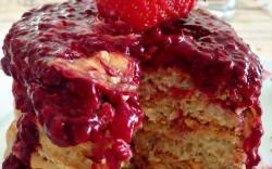 receta de hot cakes veganos