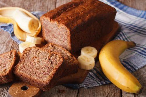 Receta Pastel de Plátano Vegano