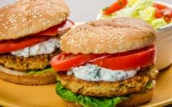 Receta: Hamburguesa Vegetariana y Saludable