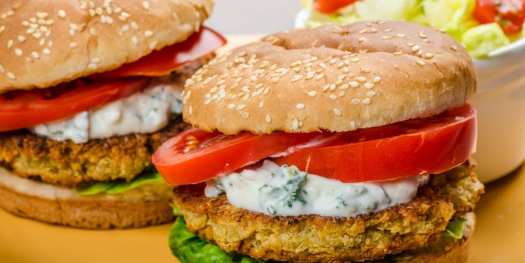Receta: Hamburguesa Vegetariana y Saludable