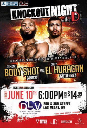 BOX: BODY SHOT VS EL HURACÁN