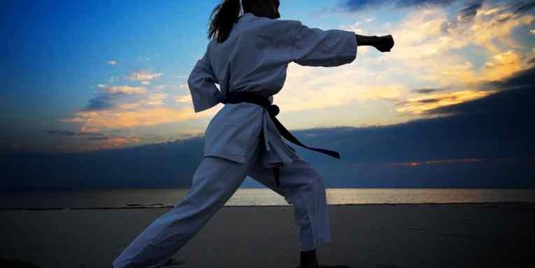 campeonato de karate en mazatlán