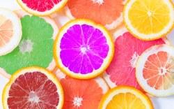 Alimentos dañinos con colores artificiales