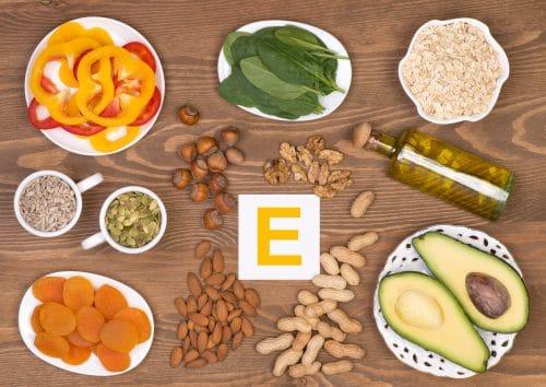 para qué sirve la vitamina E