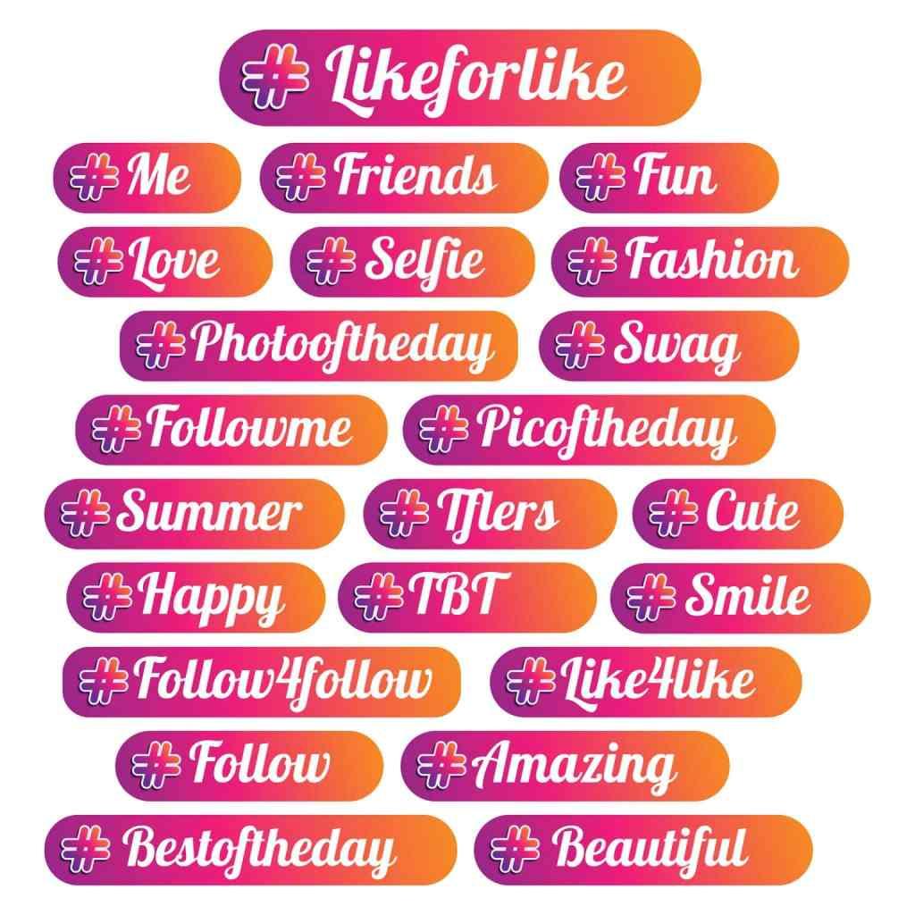 hashtag populares instagram, hashtags para obtener interacciones, como crecer en instagram, como usar hashtag en instagram, como saber que hashtags usar en instagram