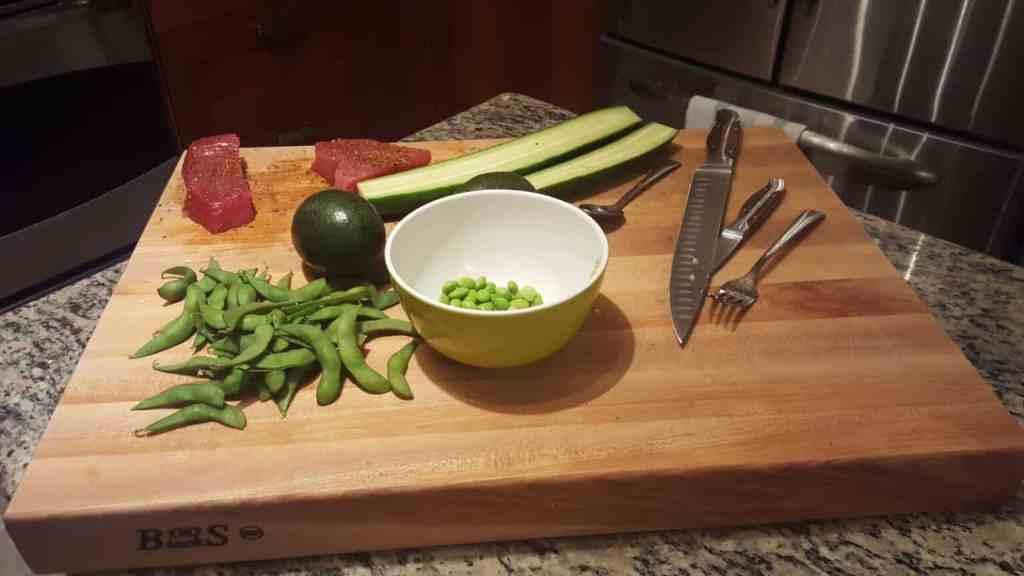 receta de poke, receta poke bowl atún, receta poke bowl vegetariano, pokés veganos, poke bowl, poke bowl receta
