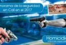 Panorama de la seguridad en Cali en el 2017 – Homicidios