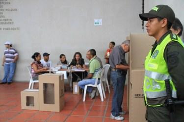 Dispositivo y medidas de seguridad para jornada electoral de congreso