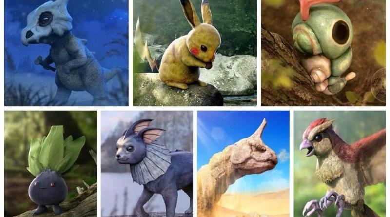 Así serían los Pokémon de la primera generación en la vida real