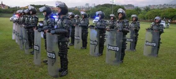 620 Militares son los que patrullan en las calles de Cali (4)