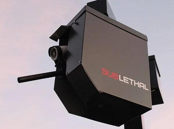 Video vigilancia con pistola incorporada, nueva inversión contra ladrones