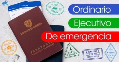 Estos son los tipos de pasaportes Colombianos